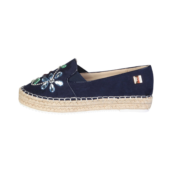 Laura Biagiotti Blue Women Flat shoes