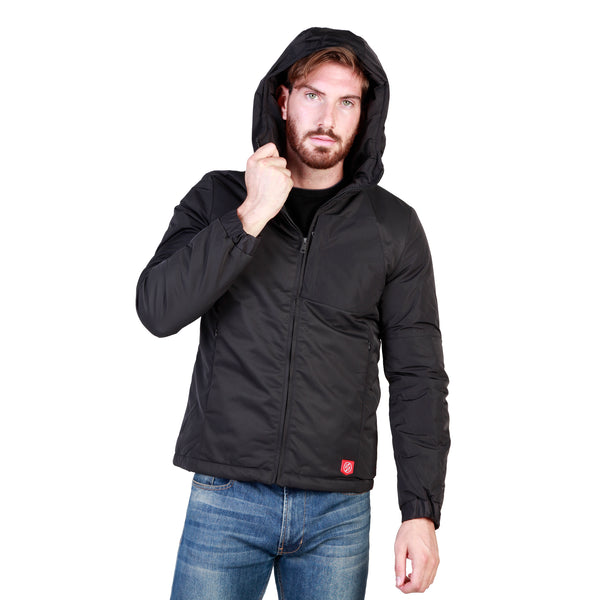 Sparco Black Men Jackets