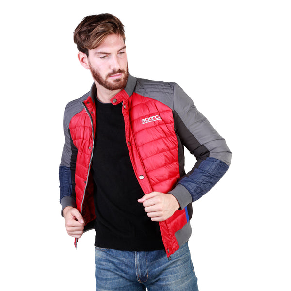 Sparco red, dimgray Men Jackets