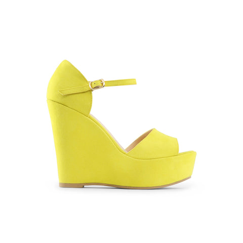 Made in Italia greenyellow Women Wedges