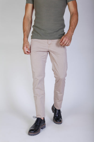 Jaggy burlywood Men Trousers