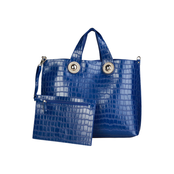 Versace Jeans Blue Women Shopping Bags