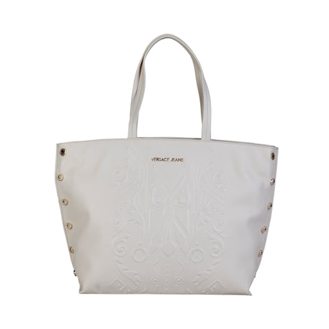 Versace Jeans White Women Shopping bags