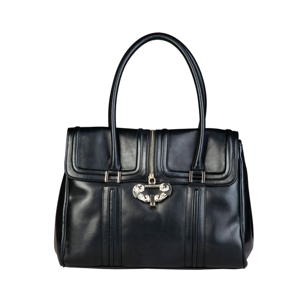 Versace Jeans Black Women Handbags