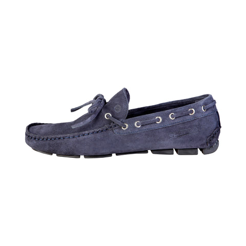 Sparco Blue Men Moccasins