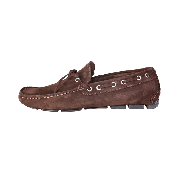 Sparco Brown Men Moccasins