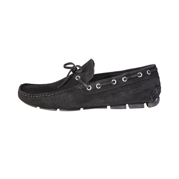 Sparco Black Men Moccasins