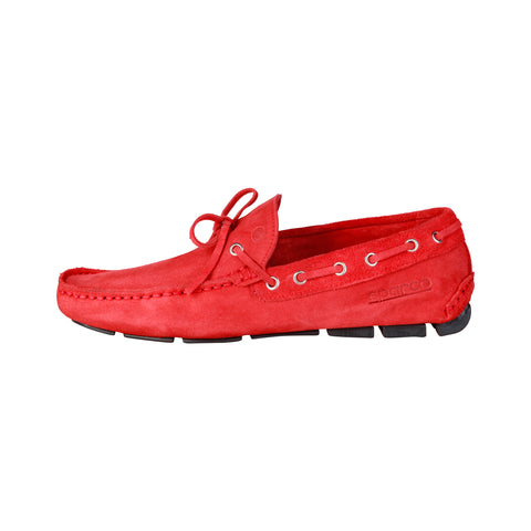 Sparco Red Men Moccasins