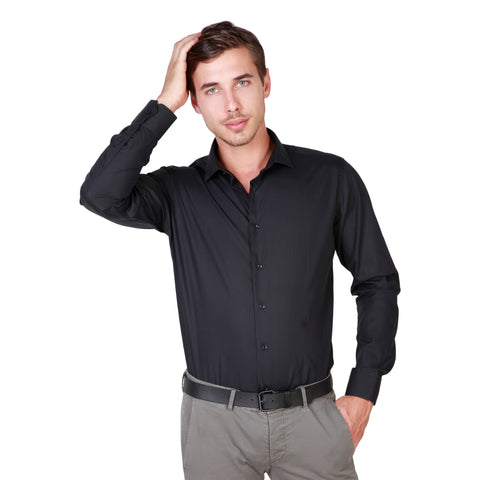 Trussardi Black Men Shirts