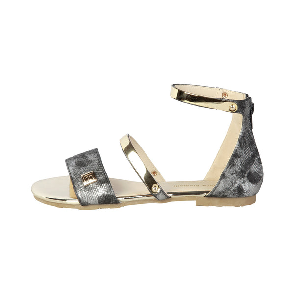 Laura Biagiotti Grey Women Sandals
