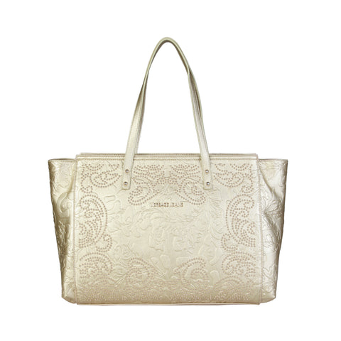 Versace Jeans Gold Women Shopping bags
