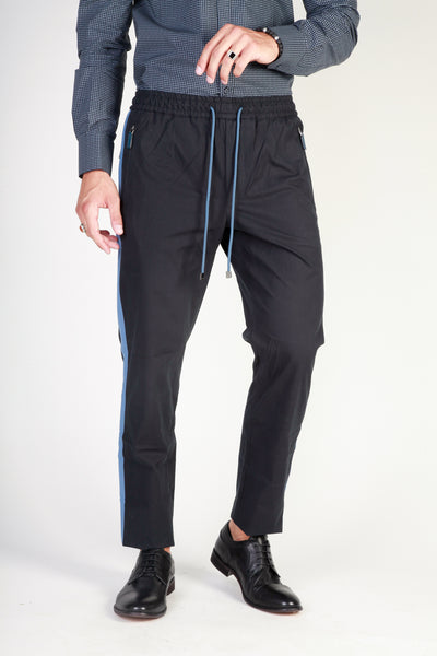 Dolce&Gabbana black,steelblue Men Trousers