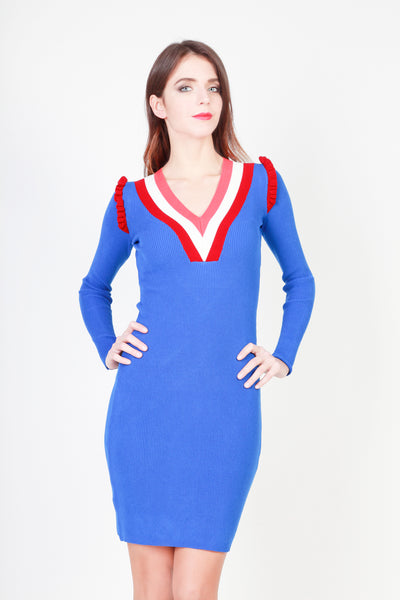 Pinko blue, darkred Women Dresses