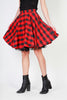 Pinko red, black Women Skirts