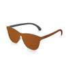 Ocean Sunglasses saddlebrown Unisex Sunglasses