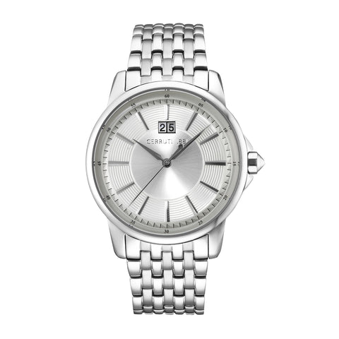 Cerruti Silver Men Watches