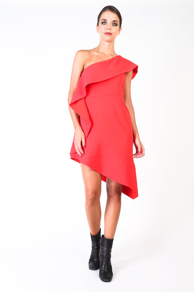Pinko Red Women Dresses