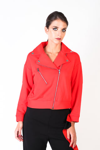 Pinko Red Women Jackets
