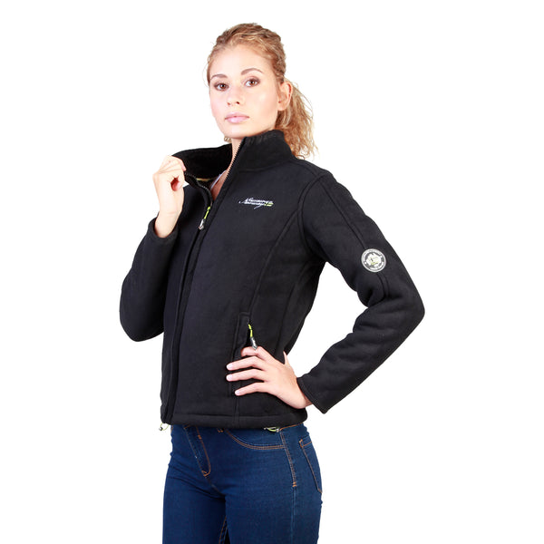 Geographical Norway Black Women Sweatshirts