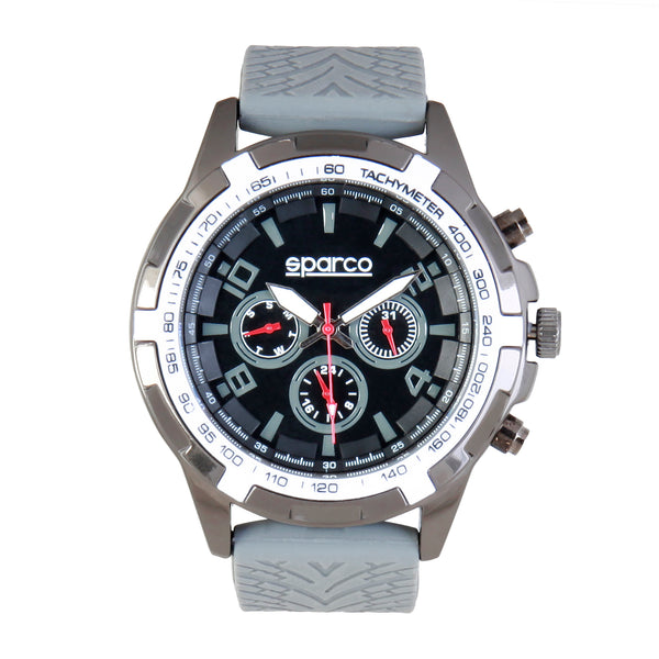 Sparco dimgray, white Men Watches