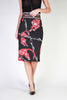 Cavalli Class black, red Women Skirts