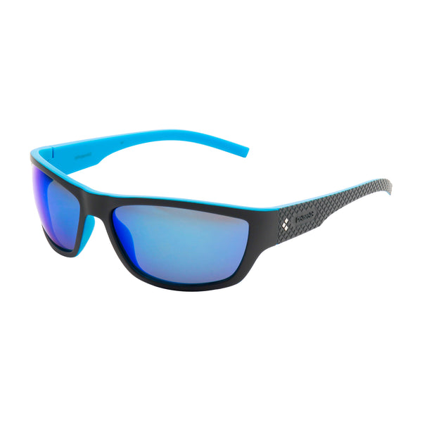 Polaroid dimgray, blue Men Sunglasses