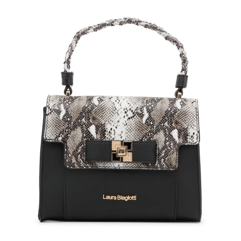 Laura Biagiotti black,gray Women Handbags
