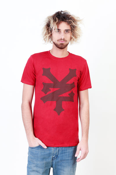 Zoo York darkred,saddlebrown Men T-shirts