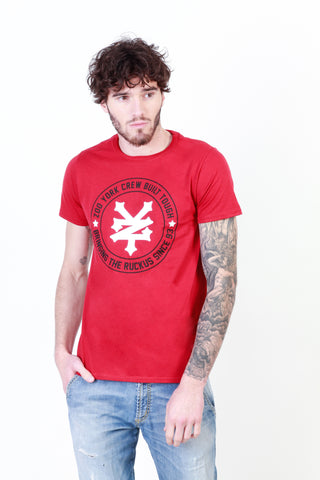 Zoo York darkred,white Men T-shirts