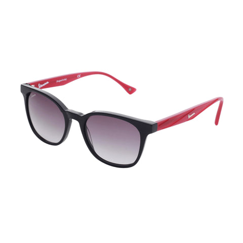 Vespa black,darkred Unisex Sunglasses