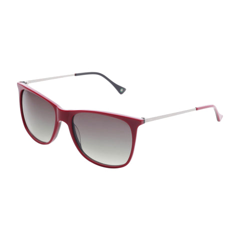 Vespa darkred,black Unisex Sunglasses
