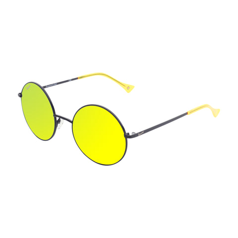 Vespa yellow,black Unisex Sunglasses