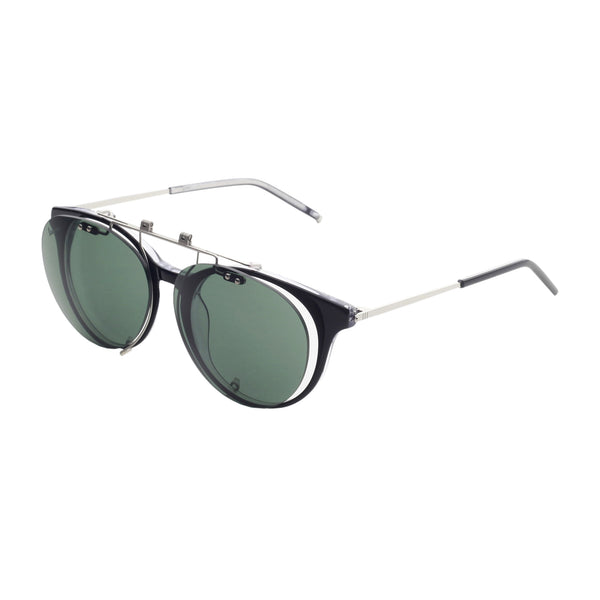 Vespa black,darkgreen Unisex Sunglasses