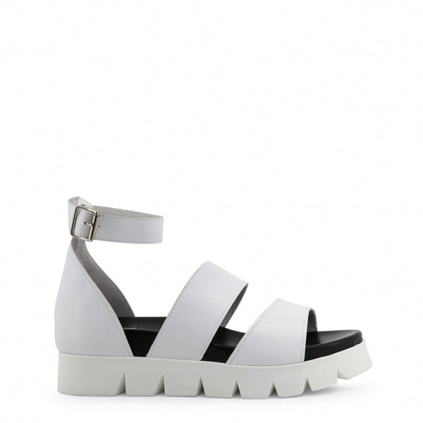 Ana Lublin white,black Women Sandals