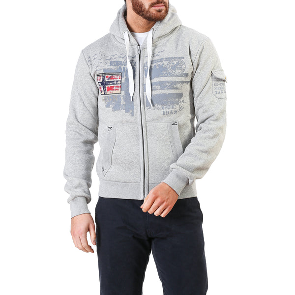 Geographical Norway lightgray Men Sweatshirts