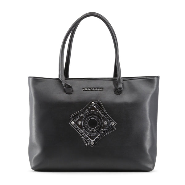Versace Jeans black,silver Women Shopping bags