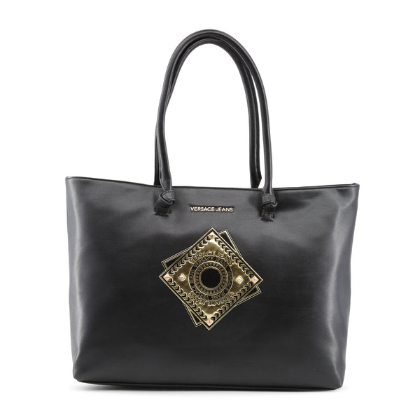 Versace Jeans black,gold Women Shopping bags