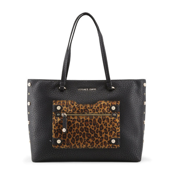 Versace Jeans black,brown Women Shopping bags