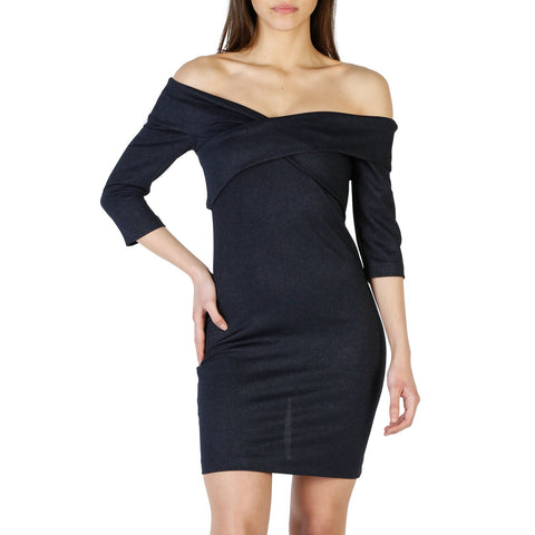Lokita navy Women Dresses