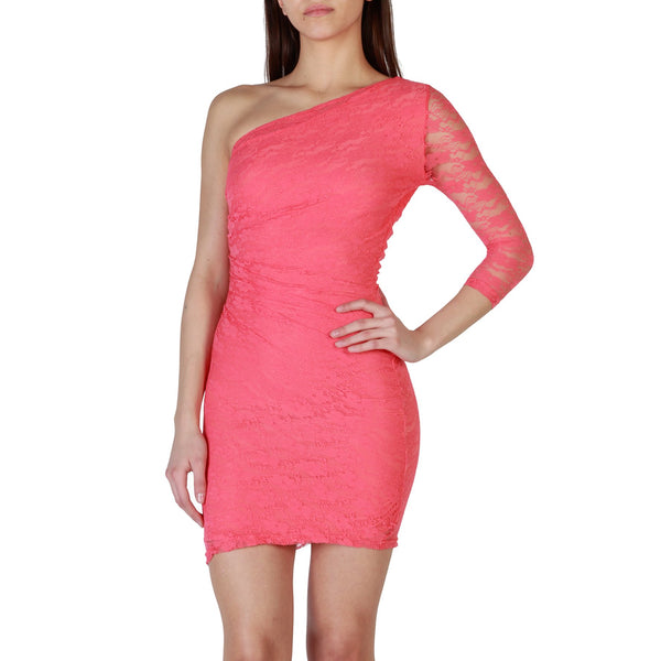 Fruscio salmon Women Dresses