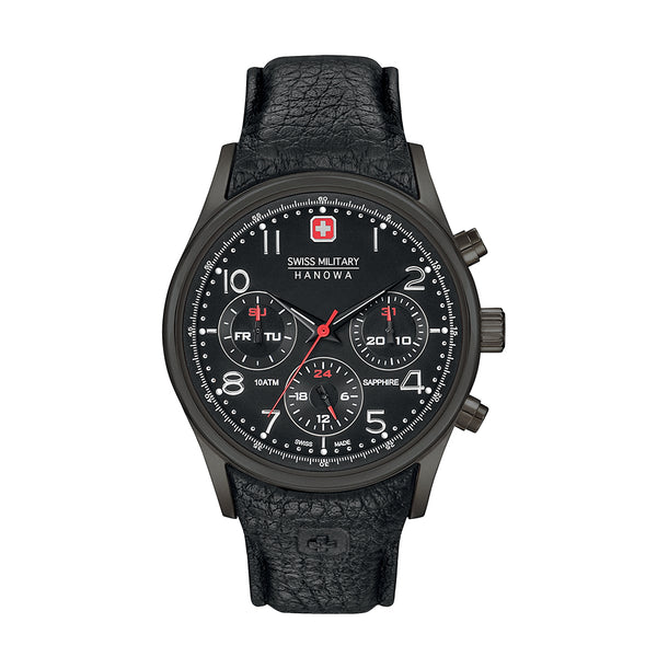 Swiss Military Black Men Watches