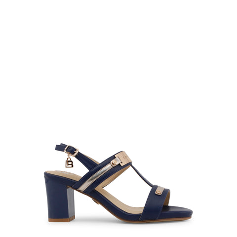 Laura Biagiotti navy,gold Women Sandals