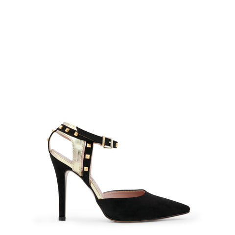 Paris Hilton black,gold Women Sandals