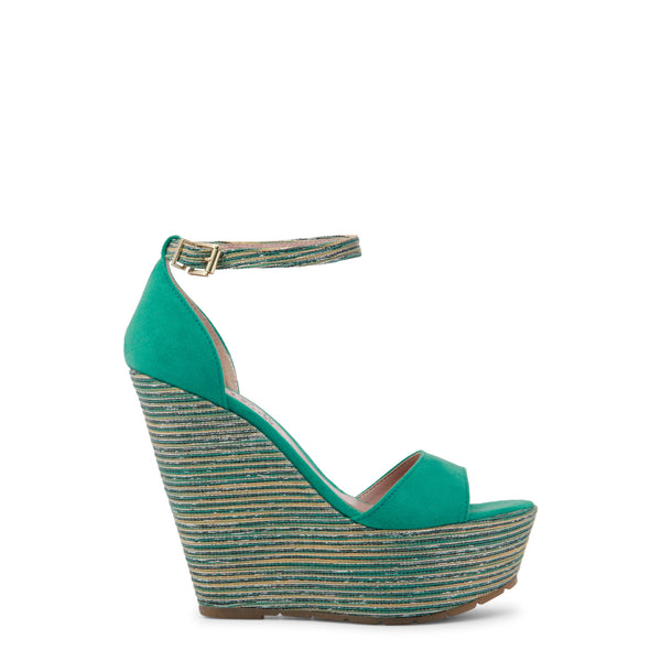 Paris Hilton aquamarine Women Wedges