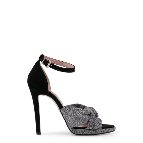 Paris Hilton black,silver Women Sandals