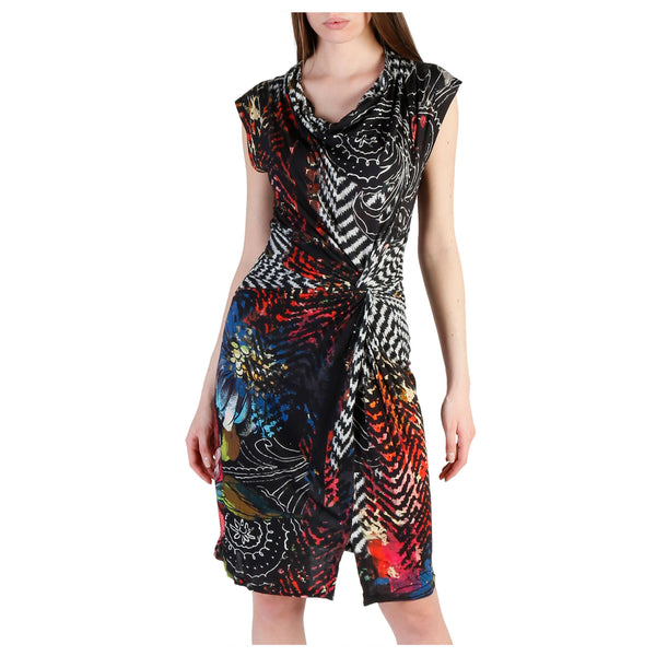 Desigual black,white Women Dresses