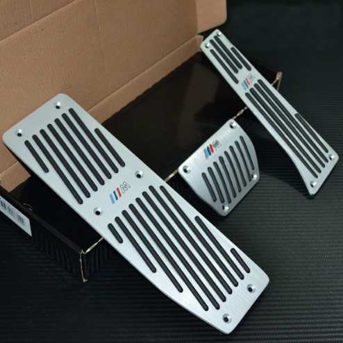 ALL Aluminum Manual or Automatic Foot Pedals For BMW E39, E46, E87, E91, E92 1999-2014