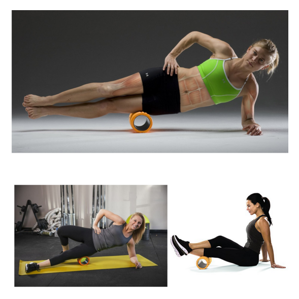 Trigger Point Foam Roller For Physio Muscle Recovery and Tightness Fitness