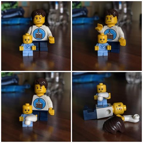 Parenting advice from Lego Dad