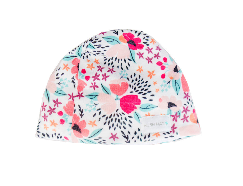 HUSH Hat™ Pink Primrose - Noise Reducing Design